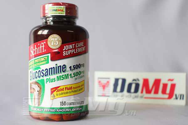 Schiff Glucosamine Hcl 1500mg Plus Msm 1500mg 5