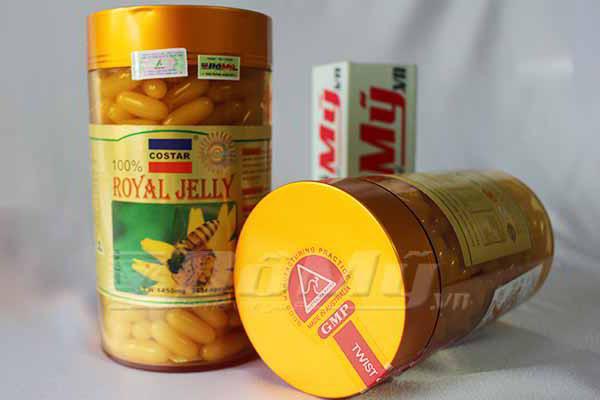 Sữa Ong Chúa Royal Jelly chứa chất kháng sinh tự nhiên (anti-bacteria ) giúp da chống mụn, chống viêm da, sạm nám da.