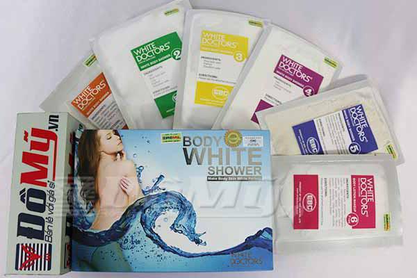 Kem Tắm Trắng Body White Shower 6 trong 1