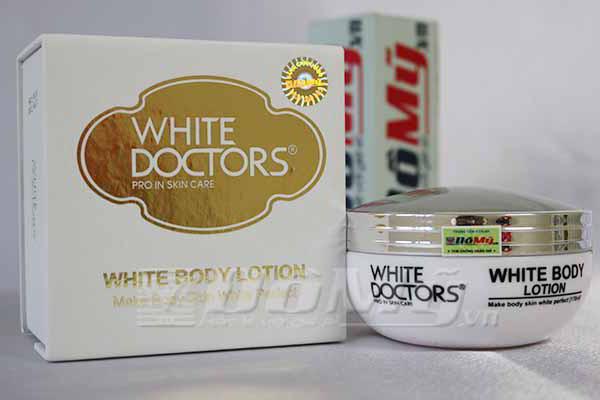 Kem dưỡng thể trắng da White Doctors White Body Lotion