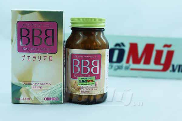 Viên uống nở ngực BBB Orihiro 300 viên - Nhật Bản