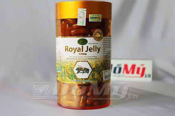 Sữa Ong Chúa chống lão hóa Royal Jelly Nature'King 365 viên 1000mg của Úc