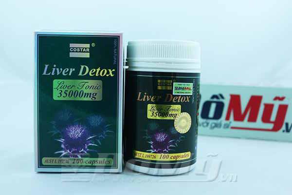 Giải Độc Gan Liver Detox Costar 35000mg của Úc