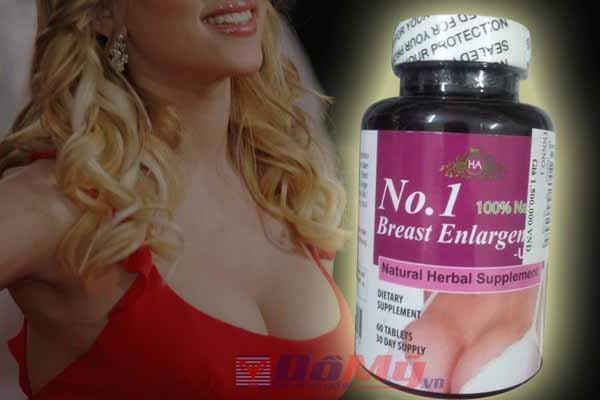 Viên uống Nở Ngực No. 1 Breast Enlargement USA 60 viên