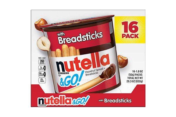 Bánh que chấm Socola Nutella (16 gói)