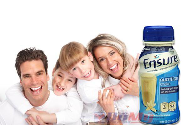 Sữa Ensure cho người gầy, người tiểu đường và người ung thư