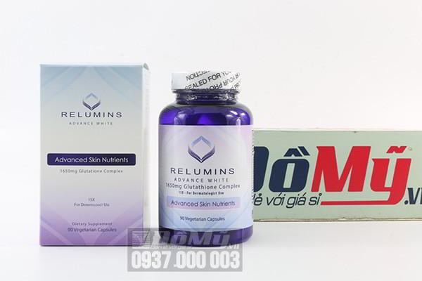 Sử dụng viên uống trắng da Relumin Advance White bao lâu mới có tác dụng tốt?