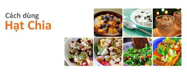 8 Món Ăn Hấp Dẫn Được Chế Biến Từ Hạt Chia