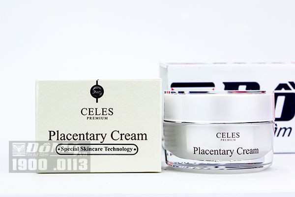 Kem dưỡng trắng da trị nám Celes Placentary Cream - Hàn Quốc