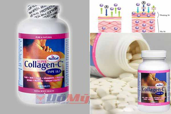 New NeoCell Super Collagen +C Type 1 & 3. Hộp 360 viên