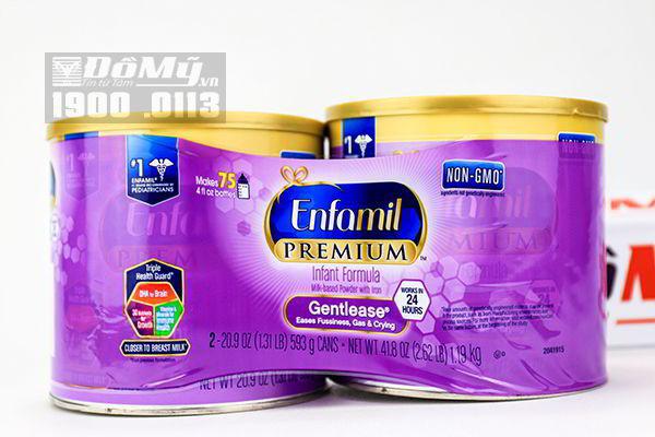 Sữa bột Enfamil Gentlease dành cho bé 593g