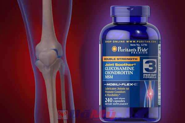 Glucosamin Chondroitin MSM Puritan's Pride 240 viên của Mỹ