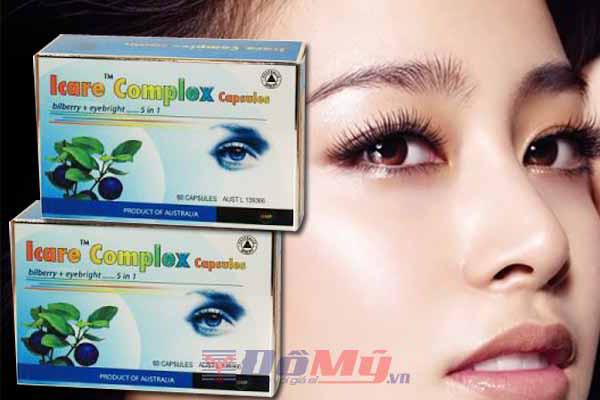 Bổ Mắt ICARE COMPLEX 5 IN 1, 60 viên của Úc