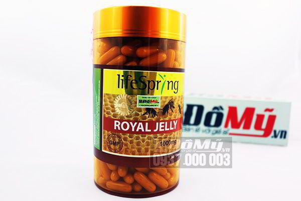 Viên Uống sữa ong chúa chống lão hóa LifeSpring Lanopearl 1000 mg 360 viên của Úc