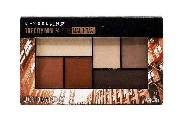 Phấn mắt The City Mini Palette Maybelline 6 ô của Mỹ
