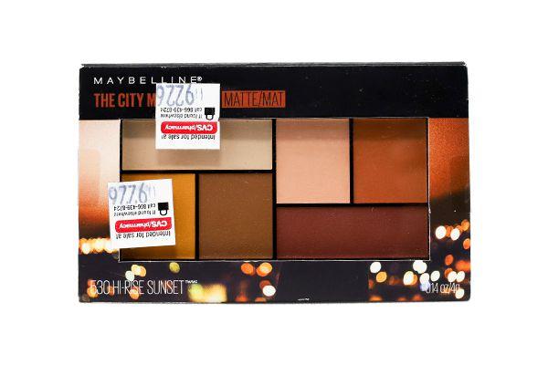 Bảng Màu Mắt và Highlight Maybelline Total Temptation Eyeshadow & Highlight Palette