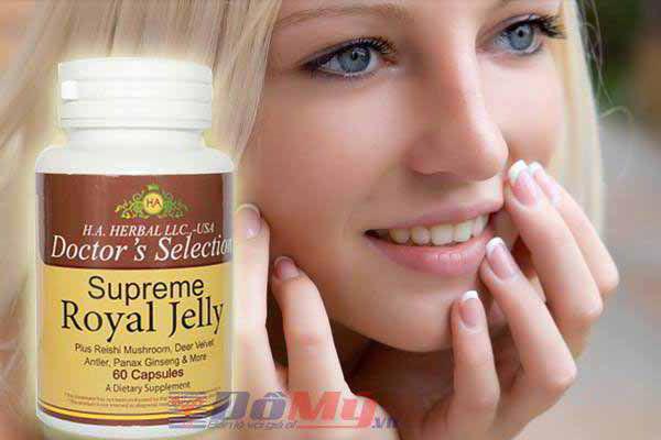 Sữa ong chúa Supreme Royal Jelly 60 viên USA