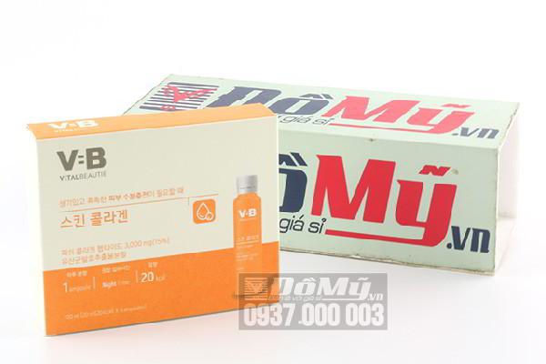 Nước uống Collagen V=B Vital Beautie Super Collagen 5 lọ x 20ml của Hàn Quốc