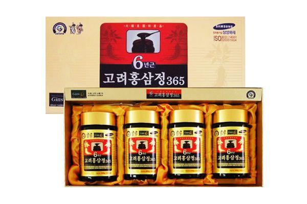 Cao hồng sâm Hàn Quốc 6 năm tuổi loại 4 lọ *240g