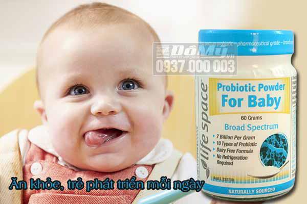 Hướng dẫn sử dụng men vi sinh Probiotic Powder For Baby đúng cách