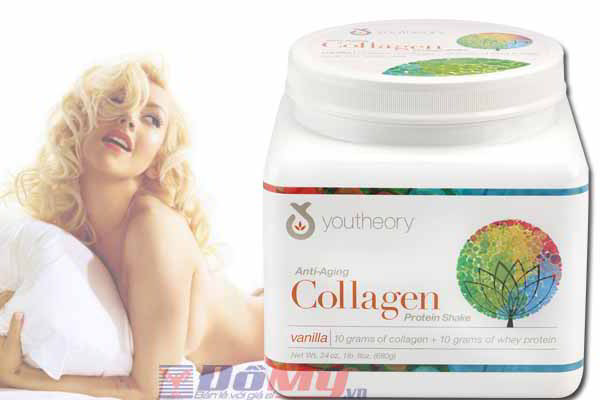 Bổ sung Collagen Youtheory™ Anti-Aging Collagen Protein Shake 680g của Mỹ